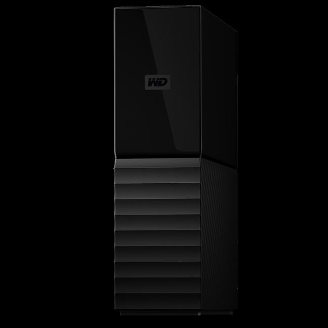 WD My Book 8TB USB 3 0 Desktop Hard Drive WDBBGB0080HBK-NESN Black
