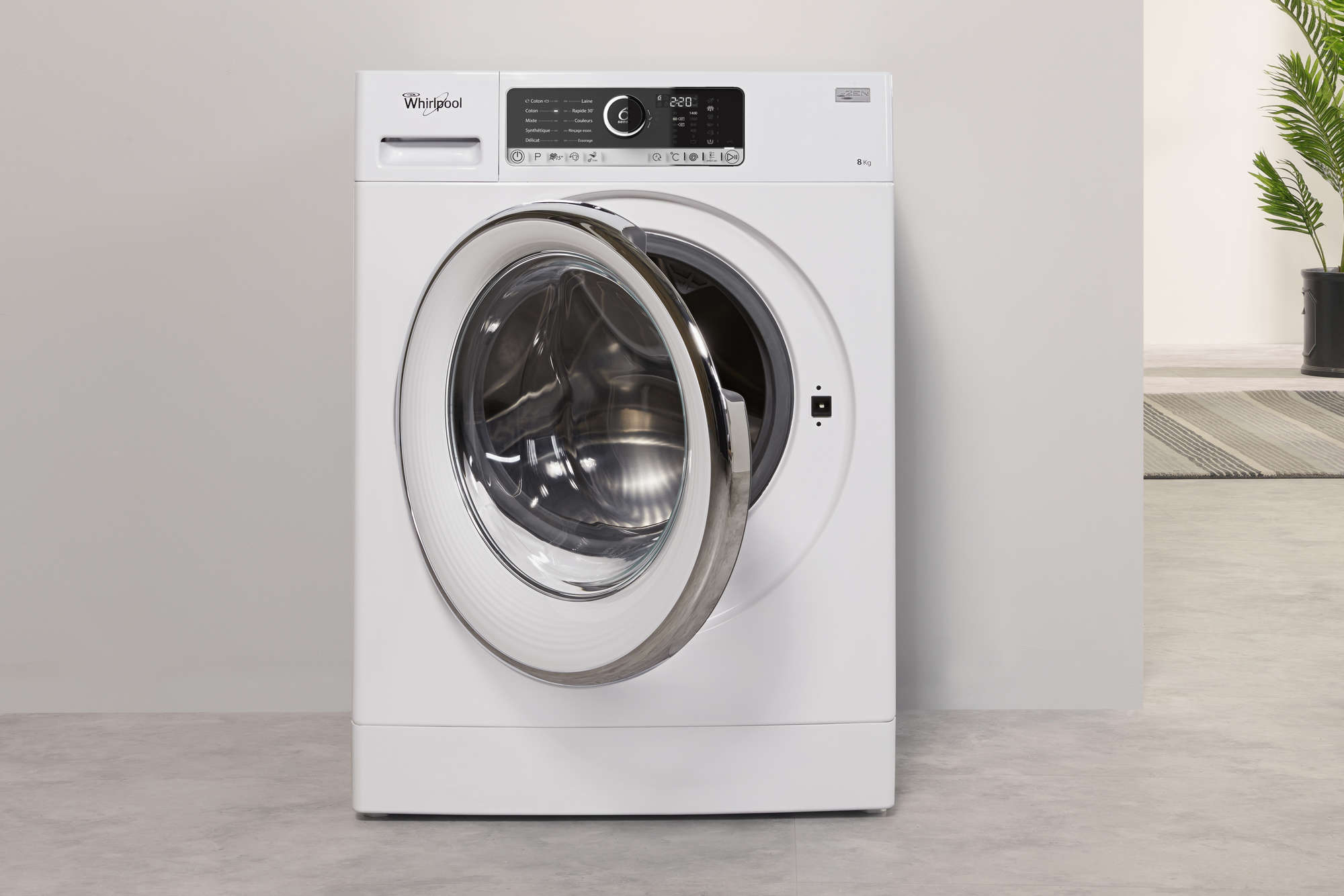 lave linge hublot whirlpool fscr80421 supreme care | darty