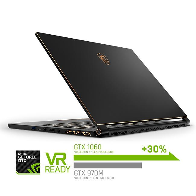 MSI GS65 Stealth Thin 8RE Core i7-8750H 16GB 256GB SSD GeForce GTX 1060  15 6 Inch Windows 10 Gaming Laptop